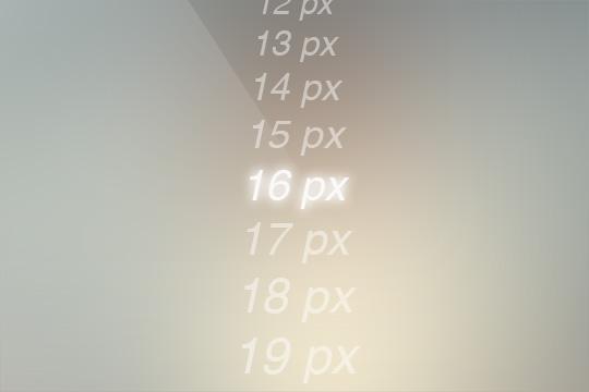 Webサイトのフォントサイズ、「16px」が読みやすい!?
