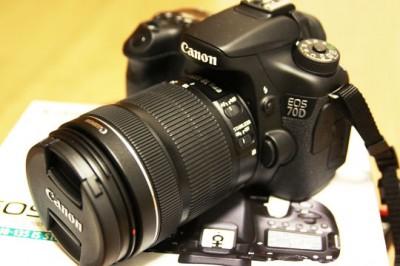 「Canon EOS 70D」を買いました