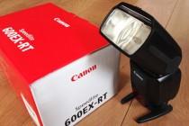 「CANON スピードライト 600EX-RT」を導入!