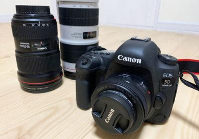 一眼レフカメラ「Canon EOS 5D Mark IV」を導入