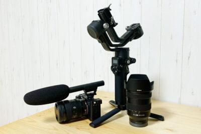 動画用の一眼レフカメラ「α7C」を導入